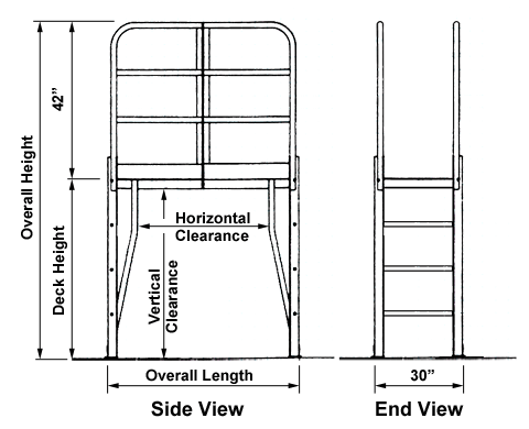 Vertical Climb Crossover Dimensions