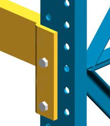 Structural Pallet Rack - Steel King