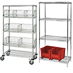 Wire Shelving for Industrial and Commercial