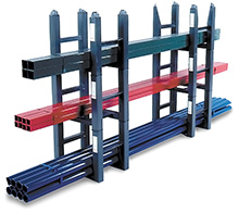 stackable racks for pipe storage