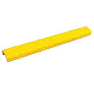 "Rung Cover - 14"" x 1"" Channel, Fine Grit, Yellow"